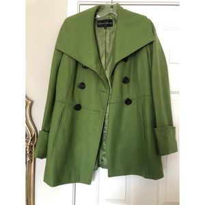 Antonio Melani Green Pea Coat